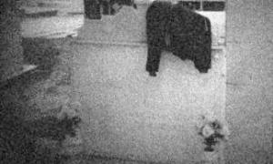 La chaqueta sobre la tumba