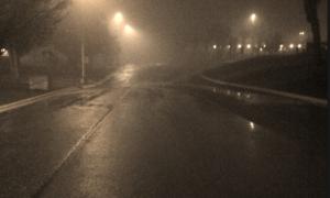 En una noche de lluvia